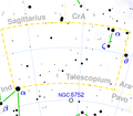 Telescopium constellation map.png