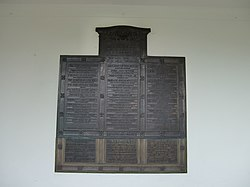 War Memorial (bantayog sa Hiniusang Gingharian)