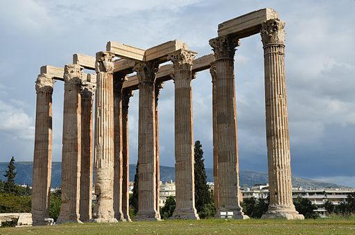 Temple of Olympian Zeus, Athens, Greece (14012827571)
