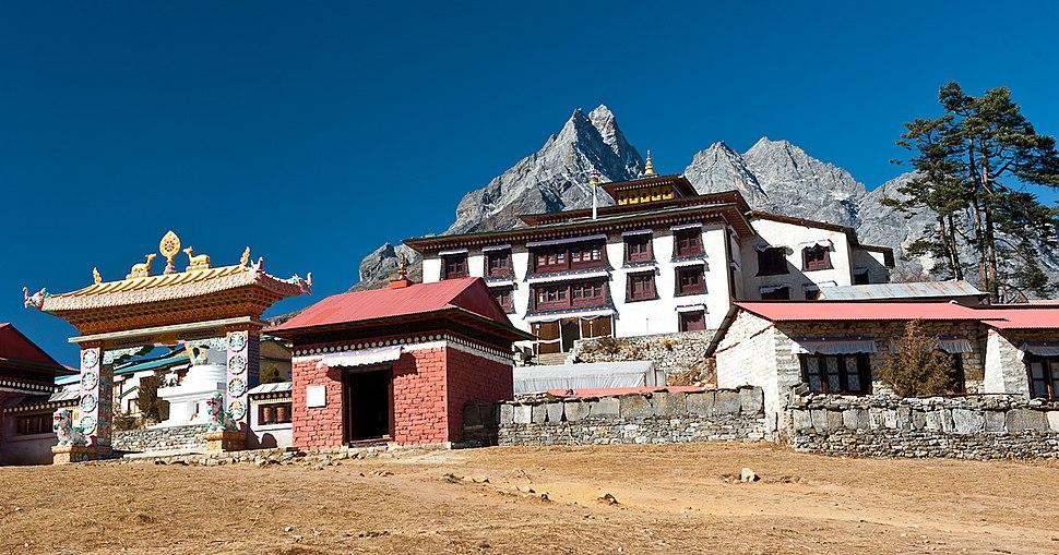 Tengboche monastery II