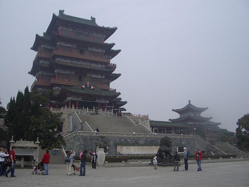 File:Tengwang Pavilion Nanchang Jiangxi China - panoramio.jpg