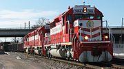 Terminal Railroad Association of St. Louis Freight Train