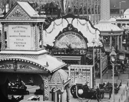 Tesla polyphase exhibit at 1893 worlds fair
