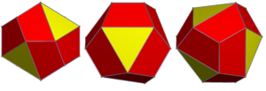 Tetrahedrally diminished dodecahedron - Image: Tetrahedrally diminished regular dodecahedron