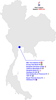 Thailand Premier League 2002 03 Map.png
