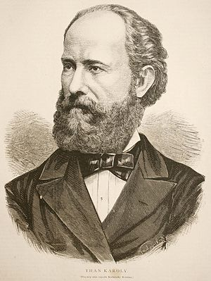 Carl von Than - Image: Than Károly Orszag Vilag 1880