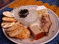 Thanksgiving brie caviar duck pate.jpg
