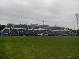 Nippatsu Mitsuzawa Stadium - Image: The pitch