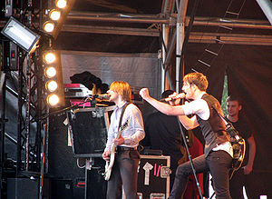 The Feeling - Performing in London, 2007