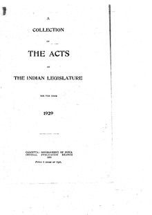 The Acts of the Indian Legislature for the year 1929.pdf