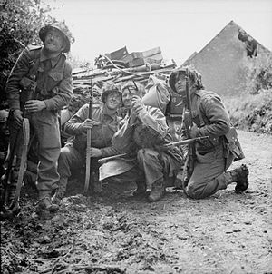 Operation Martlet - Image: The British Army in Normandy 1944 B6139