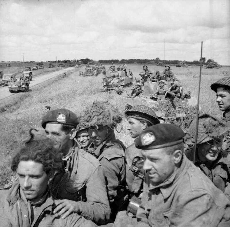 The British Army in Normandy 1944 B9528