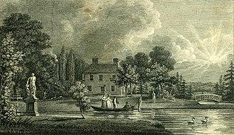 The Bury, Hemel Hempstead - The Bury in 1795