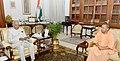 The Chief Minister of Uttar Pradesh, Shri Yogi Adityanath calling on the President, Shri Ram Nath Kovind, at Rashtrapati Bhavan, in New Delhi on July 12, 2018.JPG