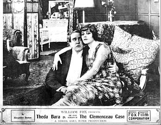 The Clemenceau Case - Lobby card