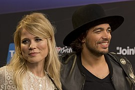 The Common Linnets, ESC2014 Meet & Greet 06 (crop 2).jpg