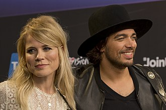 Netherlands in the Eurovision Song Contest 2014 - Image: The Common Linnets, ESC2014 Meet & Greet 06 (crop 2)