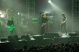 The Cure live in Singapore, August 1st, 2007