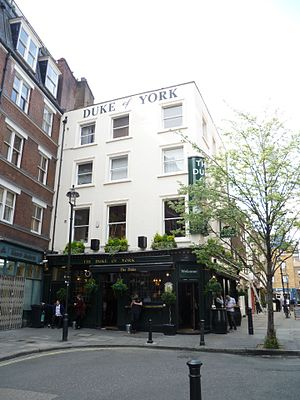 The Duke of York, Fitzrovia - The Duke of York