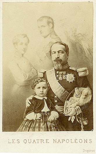"The Doll (novel) - Napoleons I–III, and Napoleon III's son, Prince ""''Loulou''"""