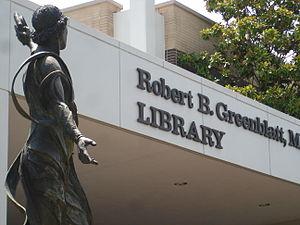 Robert Benjamin Greenblatt - Robert B. Greenblatt Library
