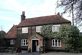 "The Green Dragon, Flaunden - ""The Green Dragon"", Flaunden. (post code HP3 0PP)"