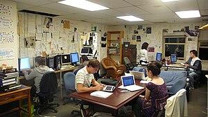 The Hoya - Image: The Hoya office