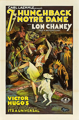 The Hunchback of Notre Dame (1923 film) - Theatrical release poster