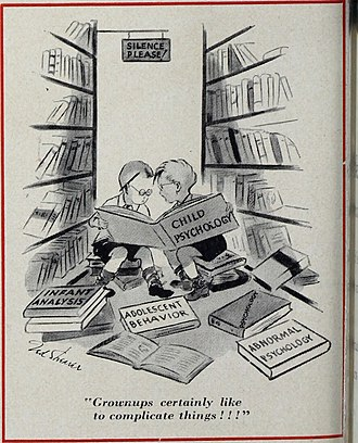 Humor research - Comic from The Ladies' Home Journal (1948)