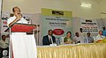 The Minister of State (Independent Charge) for Consumer Affairs, Food and Public Distribution, Professor K.V. Thomas addressing at the launch of the Kendriya Bhandar's subsidized Atta scheme, in New Delhi on May 23, 2012.jpg