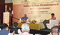 The Minister of State for Housing and Urban Affairs (IC), Shri Hardeep Singh Puri delivering the keynote address at a Seminar on 'Emerging Urban Narrative', in New Delhi on June 02, 2018 (1).JPG