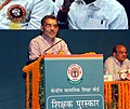 The Minister of State for Human Resource Development, Shri Upendra Kushwaha addressing a gathering, on the occasion of the CBSE Teachers' award 2015, in New Delhi on September 03, 2016.jpg