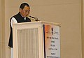 The Minister of State for Minority Affairs, Shri Ninong Ering addressing at the inauguration of the newly established National Waqf Development Corporation (NAWADCO) Ltd., in New Delhi on January 29, 2014.jpg