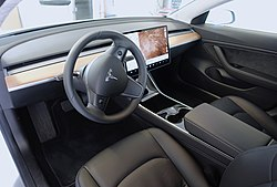 The Model 3 Interior