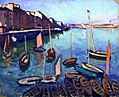 The Port, Le Havre Albert Marquet (1906).jpg