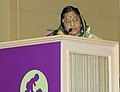 The President, Smt. Pratibha Devisingh Patil delivering the inaugural address at the Partners` Forum on the Partnership for Maternal Newborn & Child Health, in New Delhi on November 13, 2010.jpg