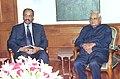 The President of Zanzibar Mr. Amani Abeid Kaurme calls on the Prime Minister Shri Atal Bihari Vajpayee in New Delhi on March 8, 2004.jpg