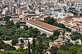 The Stoa of Attalus from the Areopagus on July 8, 2019.jpg