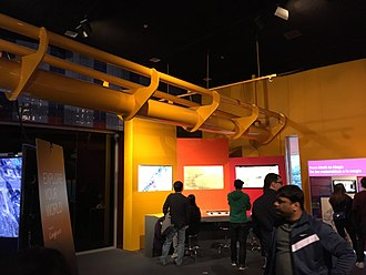 The Tech Museum of Innovation - The Tech's Google Earth exhibit.