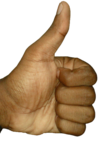 The Thumbs-up position transparent.png