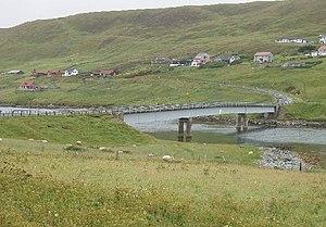 Trondra - Bridge linking Trondra with the Mainland of Shetland