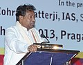 The Union Minister for Textiles, Dr. Kavuru Sambasiva Rao addressing at the inauguration of the 51st India International Garment Fair, in New Delhi on July 15, 2013.jpg