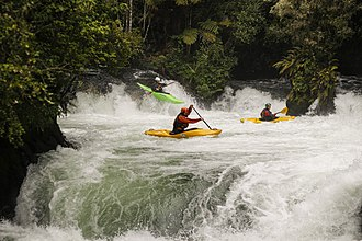 Kaituna River - Image: The Weir