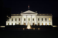 The White House at night, 2011.jpg