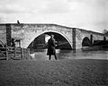 The bridge and an angler, Stamford Bridge YORYM-S410.jpg