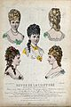 The heads and shoulders of five women with their hair combed Wellcome V0019891ER.jpg