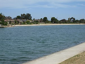 West Lakes, South Australia -  Lake at West Lakes