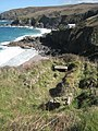 The remains of Chapel Jane above Treen Cove - geograph.org.uk - 1241848.jpg