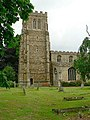 The tower of St Mary's Church, Eaton Socon - geograph.org.uk - 1372077.jpg