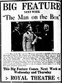 Themanonthebox 1915 newspaperad.jpg